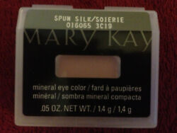 3 Mary Kay Mineral EYE Colors SPUN SILK New Shadows YOU GET 3!