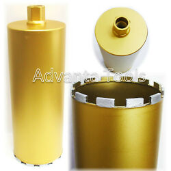 10andrdquo Diamond Core Bit For Wet Drilling Moderate Steel Reinforced Concrete