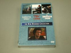 The Wim Wenders Collection Dvd, 2004, 3-disc Set Lightning Over Water Rare New