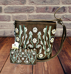 Montana West Concealed Carry Purse Wallet Western Country Designer Crossbody Bag
