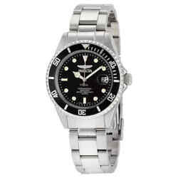 Pro Diver Black Dial Menand039s Stainless Steel Menand039s Watch 8932ob
