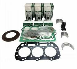For New Holland Tc30 Tc33 Tc33d Compact Tractor Engine Overhaul Rebuild Kit