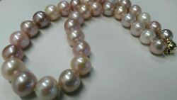 Jewelry Report Includes 17inch 12-15mm Cultured Freshwater Pearl Necklace 14k