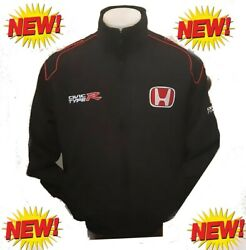 HONDA CIVIC TYPE-R JACKET-BLOUSON-JAQUETTE.. RACING TEAM ALL LOGO IN BRODERY