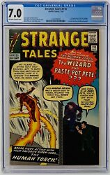 Strange Tales #110 CGC 7.0 Marvel Comics 1963. First Appearance of Dr. Strange.