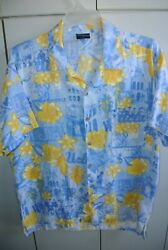 Social Awearness Classic Ucla Marching Band Hibiscus Shirt Mens Large /nice
