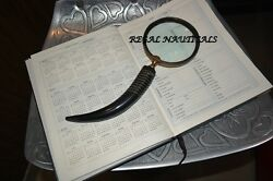 Handheld Magnifier Reading Magnifying Glass Lens Jewelry Loupe