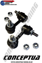 Front Anti Roll Bar Drop Links X2 For Lowered R33 Gts Skyline Rb20e