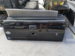 2016 Ford F250sd Pickup Lid/gate W/tailgate Step 13 14 15 16
