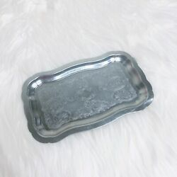 Unbranded Silver Serving Tray Silver Small Used