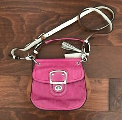 Pink Crossbody Coach Purse Very Cute $69.99