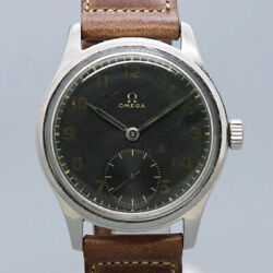 Free Shipping Pre-owned Omega Small Cecond 2383-4 Antique Watch Made 1944