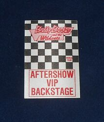 Chubby Checker And The Wildcats World Tour Aftershow Vip Backstage Pass