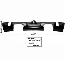 19701974 Challenger Rear Valance W/ Dual Exhaust Hole Edp Steel Dynacorn 6084
