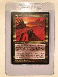 Squandered Resources Looks 8.5/9+ Ready To Grade Mtg Nm/m Rg 4rcards