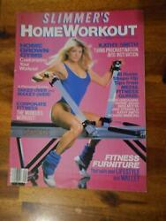 Slimmer Home Workout Female Bodybuilding Muscle Magazine Kathy Smith 9-85