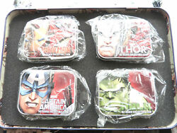 2014 Niue Marvel The Avengers 2 Two Dollar Silver Proof 4 Coin Set Box Coa