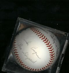 Mercury 7 Autograph Baseball by 6 of the 7 Original Astronauts