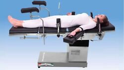 OT TABLE ELECTRIC C-ARM COMPATIBLE WITH SMPS BASED CONTROL BOX ZERO POSITION