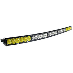 50 Inch Led Light Bar Amber/white Dual Control Onx6 Arc Series Baja Designs