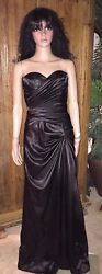 CINDERELLA DESIGN PROM FORMAL BRIDESMAID DRESS WITH TRAIN SIZE SMALL STUNNING
