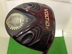 KATANA SENIOR GOLF CLUB DRIVER 2016 VOLTIO 4 BLACK LOFT-11 R-FLEX 5137