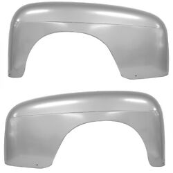 19481950 Ford Pickup Truck Rear Fender Steel Pair Right And Left Side Dynacorn