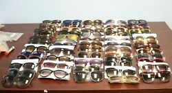 NEW Lot of 60 - 100% AUTHENTIC Designer Sunglasses WHOLESALE $18000+ RETAIL!!!