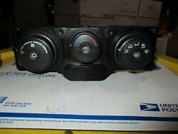 ✅ 2006 Equinox Temperature Climate Control AC Air Heater Switch Rear Window