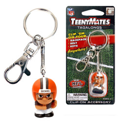 Cleveland Browns Teenymates Tagalongs Keychains