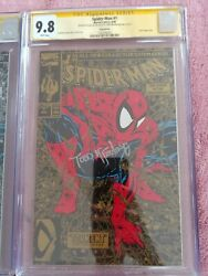 Spiderman Torment 1, Three Variant CGC 9.8 SIGNED STAN LEE and TODD MACFARLANE