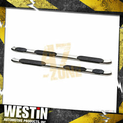 For 1999-2016 Ford F-350 Super Duty Pro Traxx 5 In. Oval Nerf Step Bars