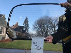 Oem Vw Vintage Parts Rear Glass Convertible Heated German Ghia And039 69 - And039 74