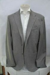 Nwt Fedeli Luxury Jacket 3btn Cashmere Gray Made In Italy Sz 50 52 54 It
