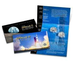 2019 Apollo 50th Ann Half Dollar Set - 5 Sets Sealed Box W/replacement Sleeves