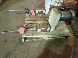 Gilman 3500b-x3m-br-b1 Belt Driven Motorized Spindle / Drill And Mill Head