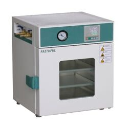 Lab Digital Vacuum Drying Oven 250anddegc 12x12x11 Cold Rolling Steel Fast Shipping