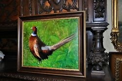 The Most Beautiful Pheasant Painting By Well Known Artist