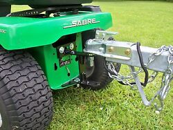Riding Mower Tow Hitch 1/4 Steel Plate Made In The Usa