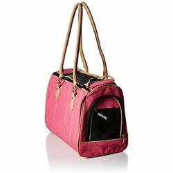 Luxury Handbag Dog Purse Stylish Soft Sided Pet Carrier For Small Dogs Cats