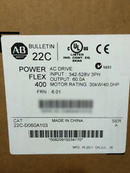 Portable Allen-Bradley PowerFlex 400 30kW 40HP AC Drive 22C-D060A103 Good New