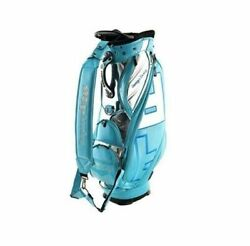 Design Tuning TPU Caddie Golf Club Bag Turkey-Blue 6Way 9In Sporting Good_MM