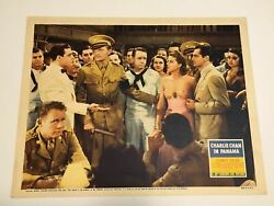 Original Charlie Chan In Panama - 1940 Lobby Card 1 Sidney Toler Rogers Atwill