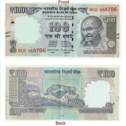 100 Rs. Note Lucky Holy Number 786 Signed Dr Raghuram Rajan Collectible G5-45