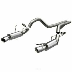 Exhaust System Kit-competition Series Stainless Cat-back System Fits Mustang V8