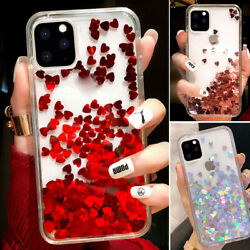 For Iphone 12 Pro Max 11 XS Max XR 7 8 Bling Glitter Cute Girl Phone Case Cover $7.98