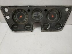 1967-1968 Chevrolet C10 Instrument Cluster Untested