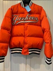 Jacket Down With Ny Yankees-appliquéd, L
