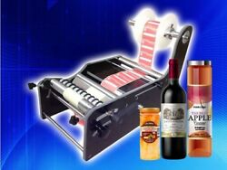 Newest Manual Round Bottle Labeling Machine Tb-26 Label Width10-210mm