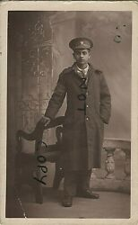 Ww1 Wounded Soldier In Hospital Blues And Greatcoat Asc Army Service Corps